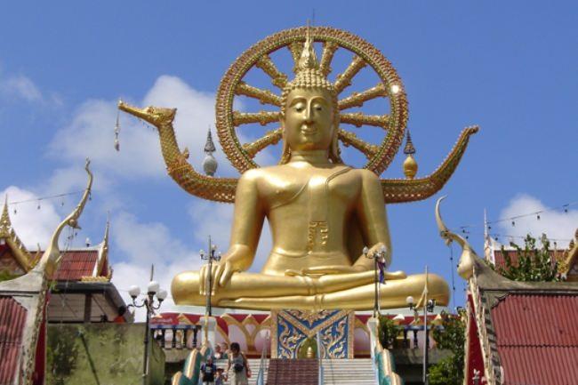 Monument to Buddha in Kamakura, Japan