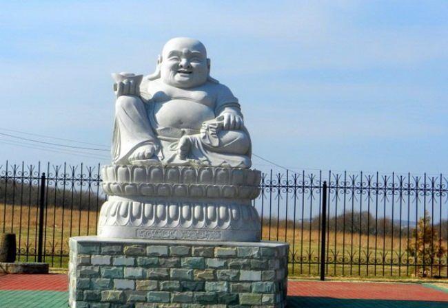 Monument to Buddha in Primorsky Krai, Russia. Photo Vladivostok.ru