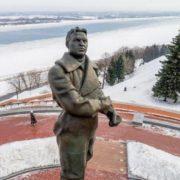 Monument to Valery Chkalov