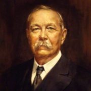 Portrait of Arthur Conan Doyle