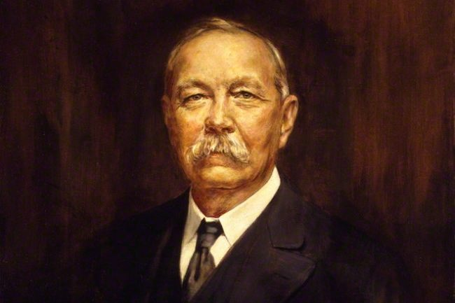 Portrait of Arthur Conan Doyle