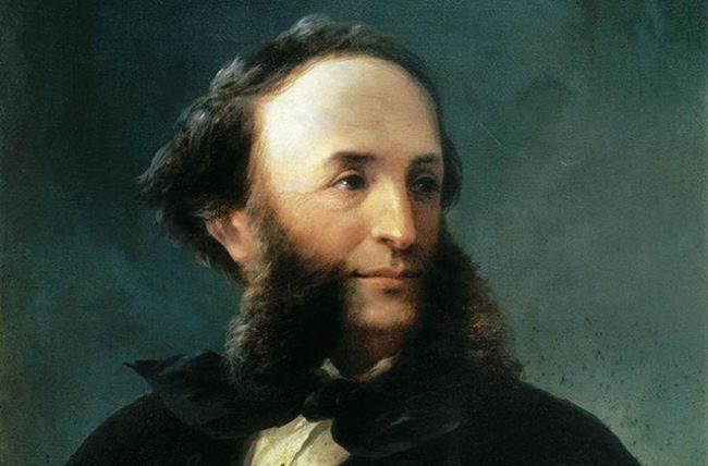 Portrait of Ivan Aivazovsky