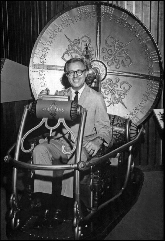 Ray Bradbury in the time machine