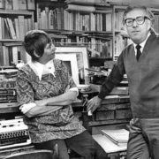 Ray Bradbury with his wife