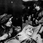 Shot from the film The Birth of the Nation