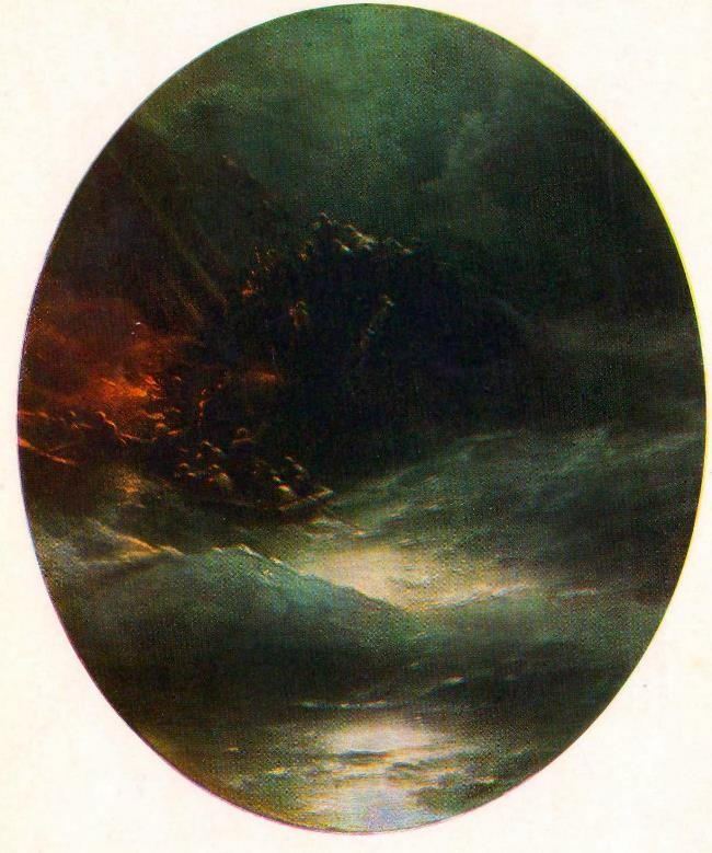 The death of the ship. 1883