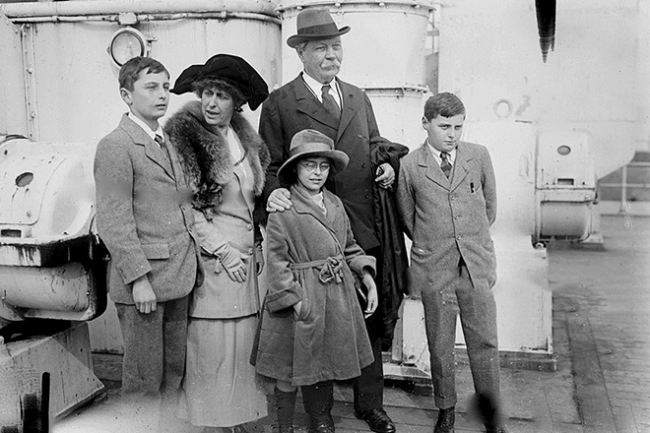 The family of Arthur Conan Doyle