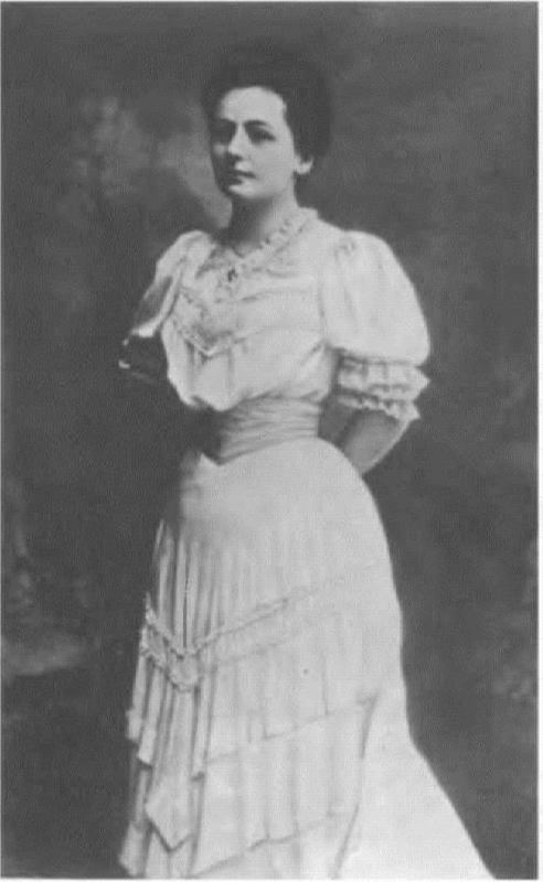 Vera Ivanovna Scriabina, the first wife of the composer