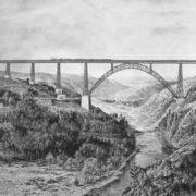 Viaduct designed by Eiffel