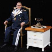 Wax figure of Hermann Göring