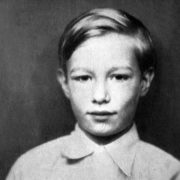 Andy Warhol in his childhood
