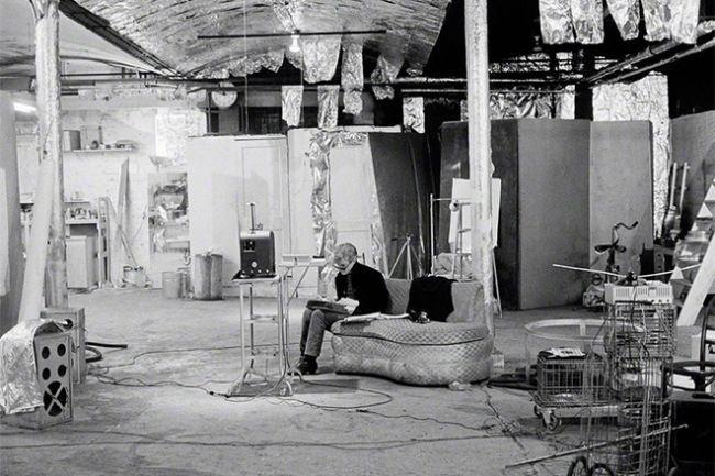 Andy Warhol's Factory Studio