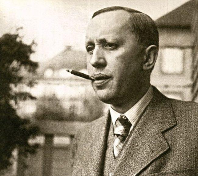 Talented writer Karel Capek