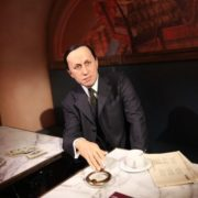 Wax figure of Karel Capek