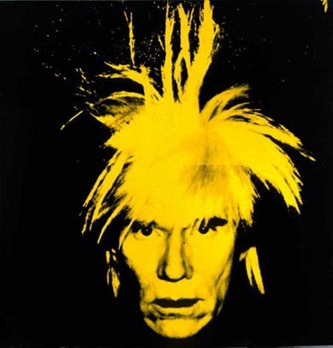 Yellow Warhol, 1986