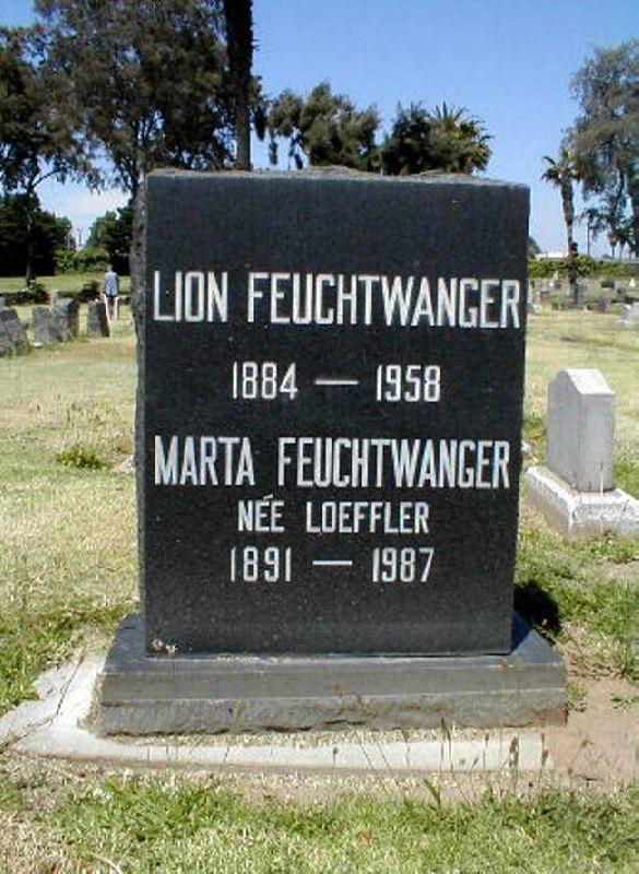 Grave of Lion Feuchtwanger