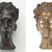Jean Cocteau bust