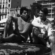 Jean Marais and his adopted son Serge Ayala