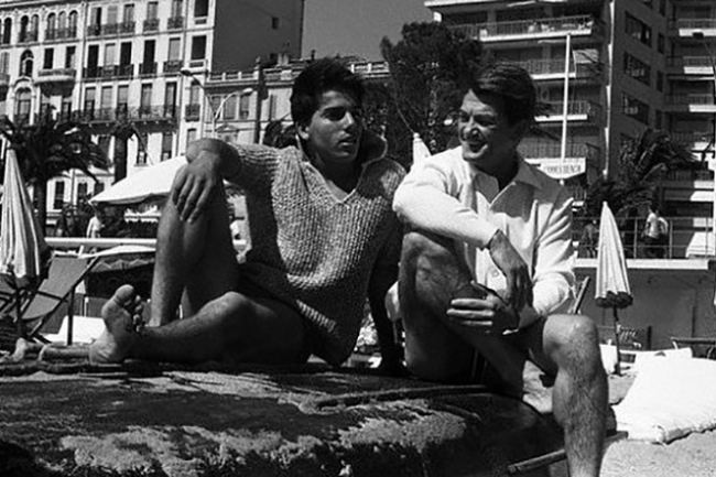 Jean Marais and his adopted son Serge Ayala