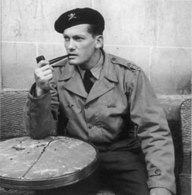 Jean Marais in the army