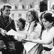 Jean Marais with fans