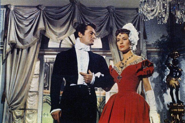 Lia Amanda and Jean Marais in the film The Count of Monte Cristo