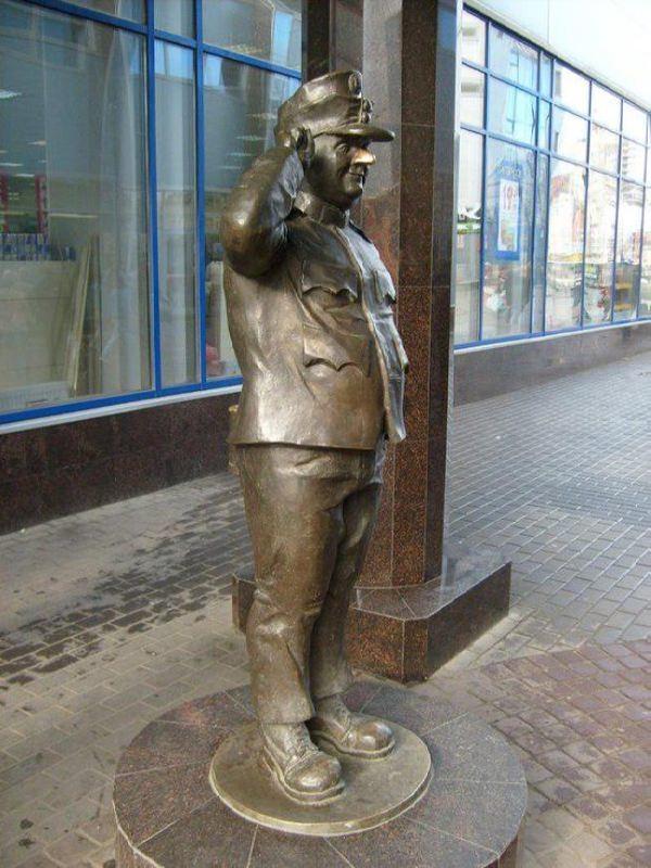 Monument to Good Soldier Schweik