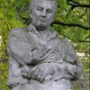 Monument to Jaroslav Hasek