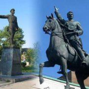 Monuments to Nikolai Shchors