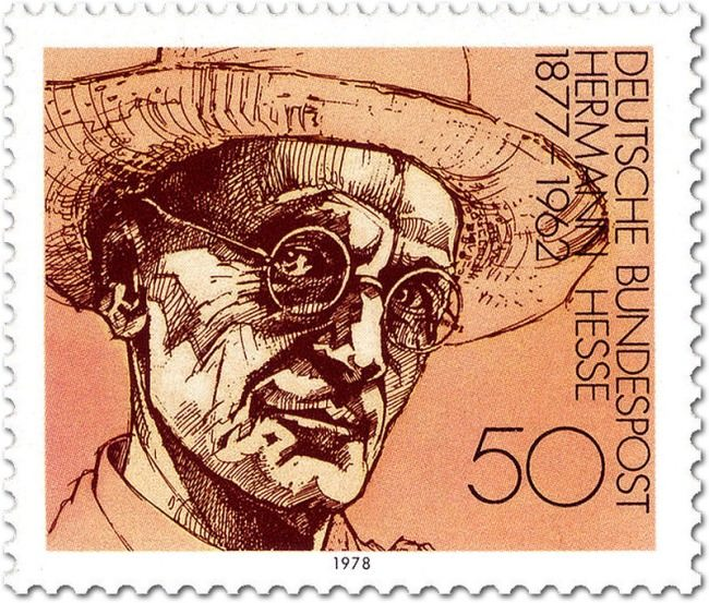Post stamp dedicated to acclaimed Thomas Mann