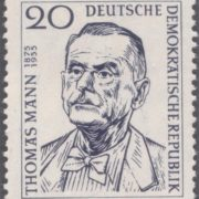 Post stamp dedicated to legendary Thomas Mann