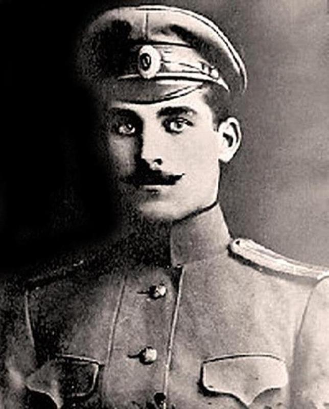 Russian officer Shchors
