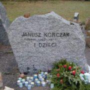 Tombstone on the grave of Janusz Korczak