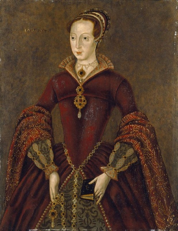 Unknown artist. Lady Jane Dudley (Grey) painting on panel dated by dendochronology to 1590s, possibly after a lost original of 1550-55