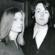 1969. Linda and Paul McCartney