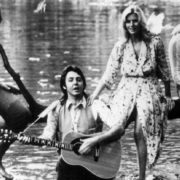 1971. Paul and Linda McCartney