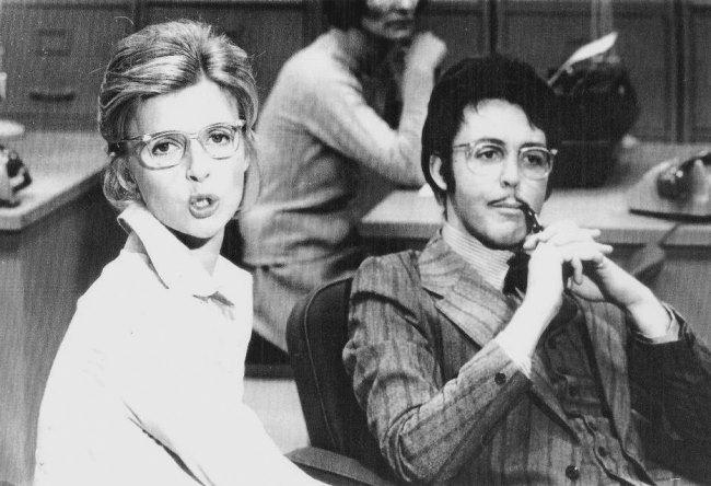 1973. Paul and Linda McCartney