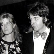 1974. Paul and Linda McCartney