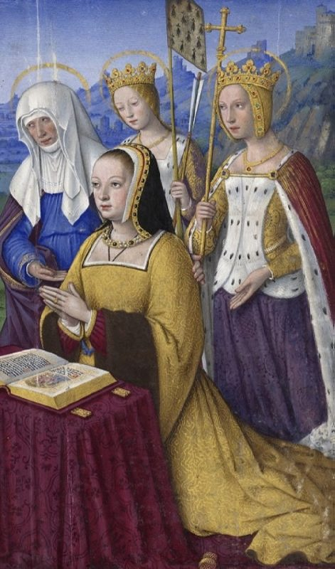 Anne of Brittany - Twice Queen of France