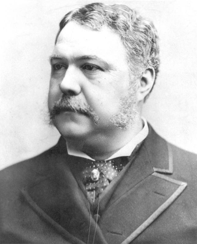 Chester A. Arthur in 1882