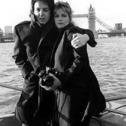 Cute Linda and Paul McCartney