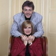 Famous Linda and Paul McCartney