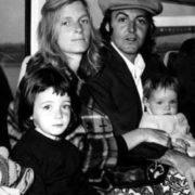 Happy family. The McCartneys