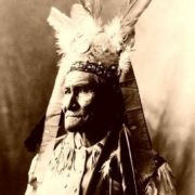Legendary warrior Geronimo