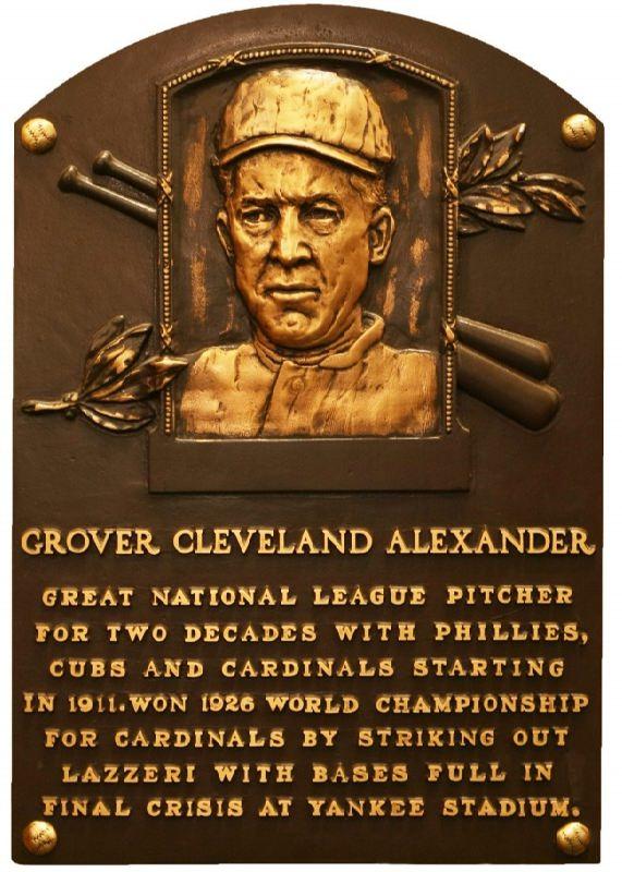 Memorial plaque dedicated to Alexander Grover