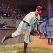 Pitcher Grover Cleveland Alexander
