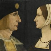 Portrait of Charles VIII and Anne of Brittany