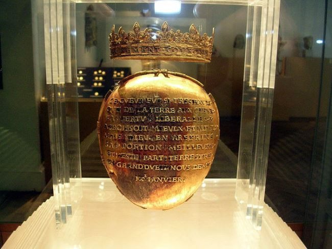 Reliquary for the heart of the Duchess Anne