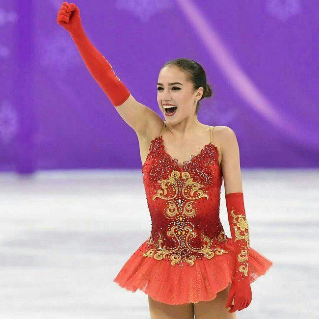 Talented Alina Zagitova