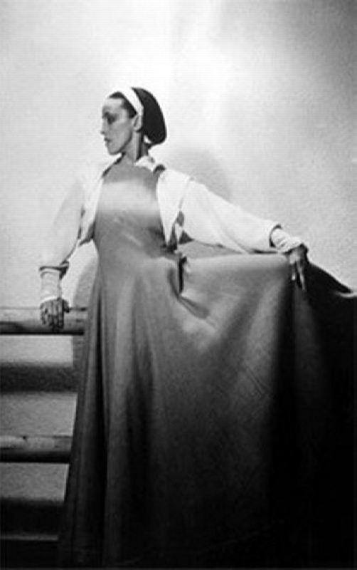 Talented Martha Graham